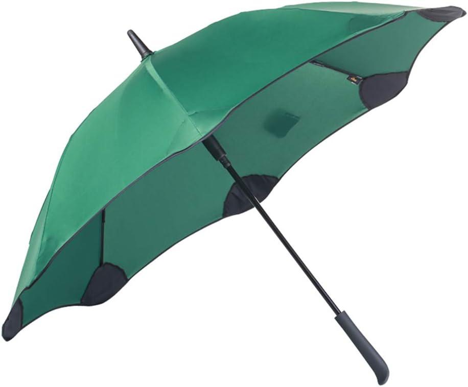 BHXUD Fashion Automatic Umbrella 49 Inch Large Mens Women Umbrellas Windproof Waterproof Stick Umbrellas,Blue