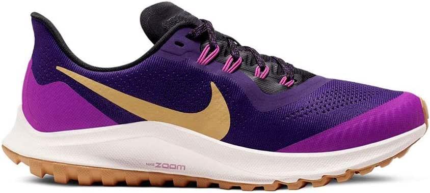 Nike Air Zoom Pegasus 36 Trail Morado Mujer AR5676 500: Amazon.es ...