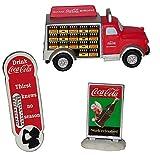 Coca Cola Town Square Accessory Set Signs - Truck