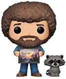 Toys : Funko Pop TV Bob Ross with Raccoon (Styles May Vary) Collectible Figure
