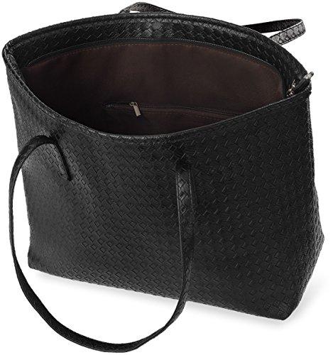 Damentasche Flechtung