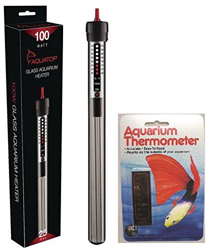 Amazon Com Aquatop Aquarium Submersible Glass Heater 100 Watt