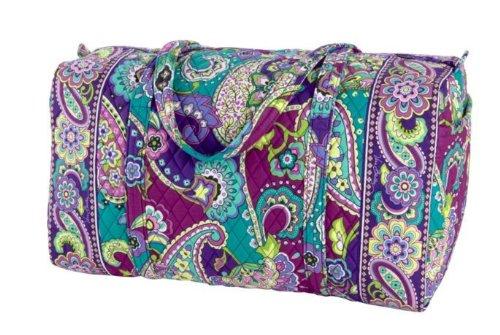 Vera Bradley Luggage Women's Large Duffel Heather Duffel Bag [Accessory] Vera... by Vera Bradley