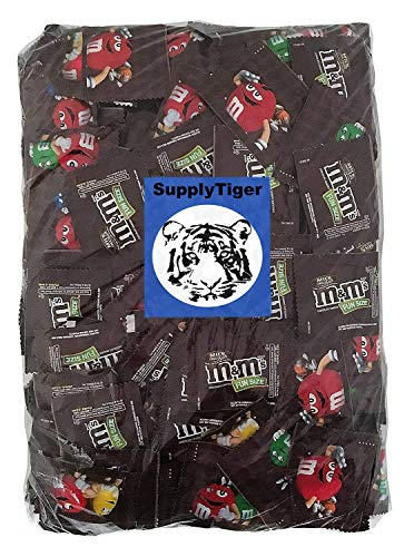 Kids Fun Candy 64oz Pack of M&M's Fun Size Milk Chocolate for Party Bags, Gifts, and Office Snacks]()
