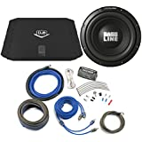 Alpine Bass Package Type-A 10 Subwoofer, DUB 200 Watt RMS Amp, and Wiring Kit