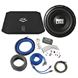 Alpine Bass Package Type-A 10'' Subwoofer, DUB 200 Watt RMS Amp, and Wiring Kit