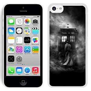 Lovely and Grace Iphone 5c Case Design with Doctor Who 2 Iphone 5c Phone Case in White hjbrhga1544