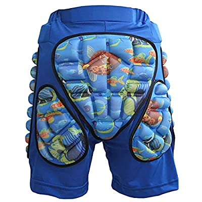 JMsDream 3D Padded Protection Hip EVA Short Pants Protective Gear for Kids & Adults Skating Riding Roller: Clothing