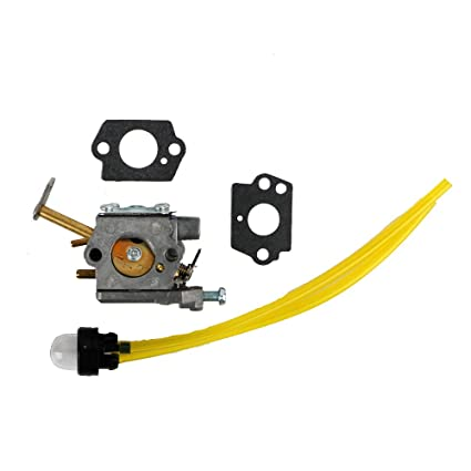 Amazon com: TDPARTS Carburetor with Primer Bulb Fuel Line