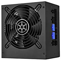 Silver Stone Technologies ST55F-PT Silent 120 mm Fan 18Dba44; Efficiency 80Plus Platinum Certification44; Modular Cable