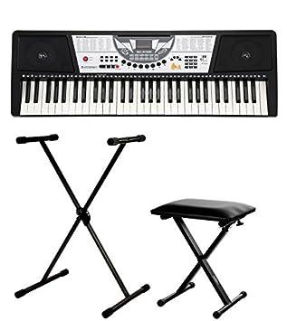 McGrey PK-610 teclado set incl. soporte + banqueta: Amazon.es: Instrumentos musicales
