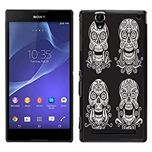 Dragon Case - FOR Sony Xperia T2 Ultra - Life is the art - Caja protectora de pl??stico duro de la cubierta Dise?¡Ào Slim Fit