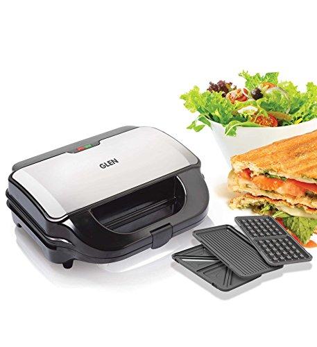 Glen 3030 Multi Snack Grill Sandwich Maker