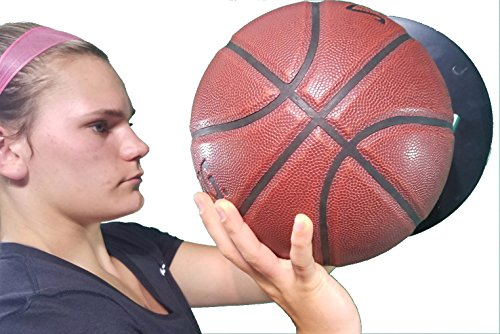HoopsKing Off Hand Shooting Aid Smooth Shooter - Guide Hand Shot Training Aid - Develop Muscle Memory for A True One Handed Release - Develop a Pure Shot - Takes Away Off Hand from Shot ... (Right) (The Best Left Handed Basketball Player)