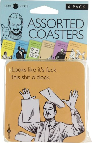 someecards-uncensored-assorted-coasters-6-pack