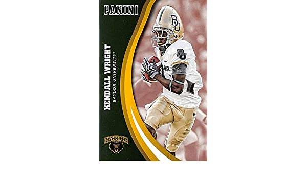 Kendall Wright football card (Baylor Bears) 2016 Panini Team Collection #17 at Amazons Sports Collectibles Store