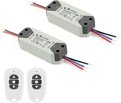 Smart Interruptor de control remoto inal/ámbrico AC90-260V Panel de interruptores de electrodom/ésticos Dispositivo de control inteligente port/átil sin cableado
