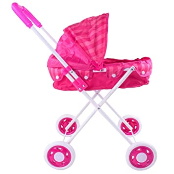 szseven Baby Doll Cochecito de Juguete, Trolley para muñecas, Juguetes, Juguetes, Interiores