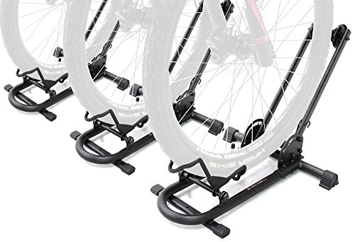 Bikehand Bike Floor Parking Rack Storage Stand Bicycle Pack