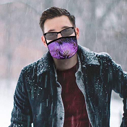 Dust Mask North Sulawesi Corals Fashion Anti-dust Reusable Cotton Comfy Breathable Safety Mouth Masks Half Face Mask for Women Man Running Cycling Outdoor