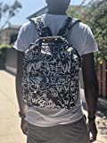 Stylish Hiphop Diaper Bag Backpack for Dad by the
