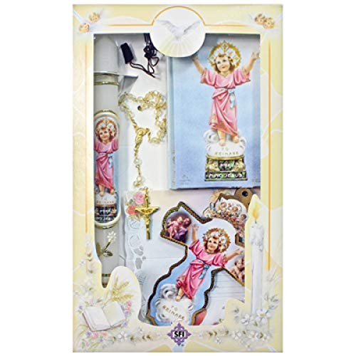 SF001 Catholic & Religious Gifts, Presentation Gift Set Girl Spanish