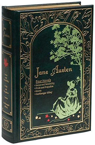 Jane Austen: Four Novels (Leather-bound Classics)