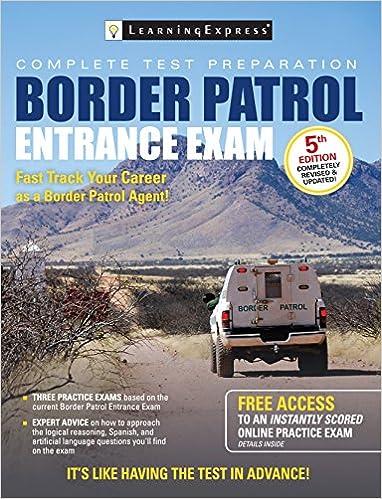 Amazon border patrol entrance exam border patrol exam ebook border patrol entrance exam border patrol exam 5th edition kindle edition fandeluxe Gallery