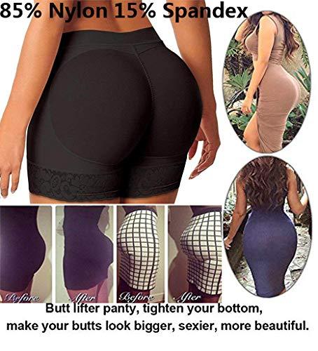 297d0ed869d Amazon.com  DODOING Women Lady Fake Butt Padded Panties Underwear Butt Hip  Enhancer Shaper Panty  Clothing