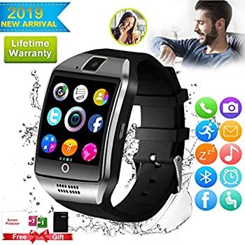 ... Watches Touchscreen with Camera Bluetooth Watch Phone with SIM Card Slot Watch Cell Phone Compatible Android Samsung iOS Phone XS X8 7 6 5 Men Women