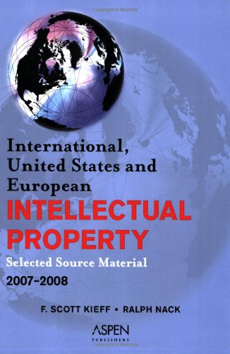 International, United States, and EUropean Intellectual Property Code Book, 2006 Edition