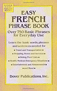 Easy French Phrase Book: Over 750 Phrases for Everyday Use (0486280837) | Amazon price tracker / tracking, Amazon price history charts, Amazon price watches, Amazon price drop alerts