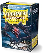 Dragon Shield Matte Black 100 Protective Sleeves