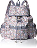LeSportsac Women's Liberty X Essential 3 Zip Voyager, Amy Jane Lilac