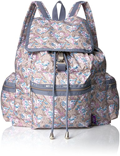 LeSportsac Women's Liberty X Essential 3 Zip Voyager, Amy Jane Lilac by LeSportsac