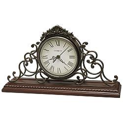 Adelaide Chiming Quartz Mantel Clock in Windsor Cherry<br> Howard Miller 635130