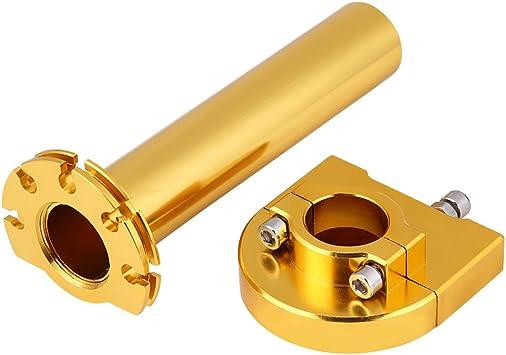 7 8 22mm Universal Lenker Gasdrehgriff Griffe Beschleuniger Gasgriff Motorrad Für Motorrad Roller Dirt Bike Gold Auto