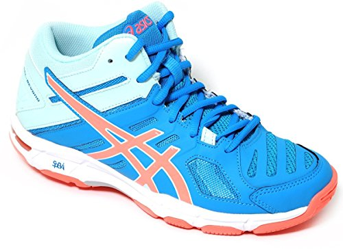 Mt 5 Asics 5 B650n Asics B650n Volleyball beyond Azul Sneakers Para Art Claro Zapatillas Lyseblå Deportivas Gel Volley Running Mt Kunst Kører Gel Kvinders Mujer over TqxTgawr