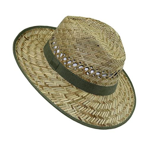 EveryHead Fiebig Niñas Sombrero De Paja Verano Playa Vacaciones Equinácea  Gorro Fiesta Unisex Con Banda Acanalada 6c27d40c79a