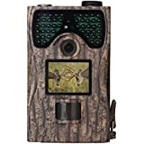 Budding Joy Trail Camera 12MP 1080P Full HD Game & Hunting Camera with 48pcs IR LEDs Night Vision up to 65ft/20m IP55 Waterproof 0.2s-0.6s Trigger Speed for Wildlife Observation and Security
