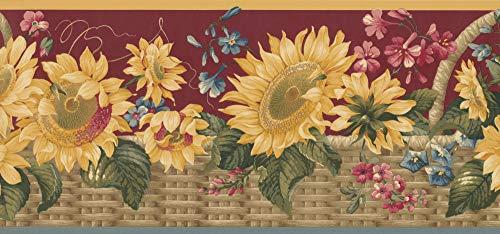 Sunflower Wallpaper Border 5802495