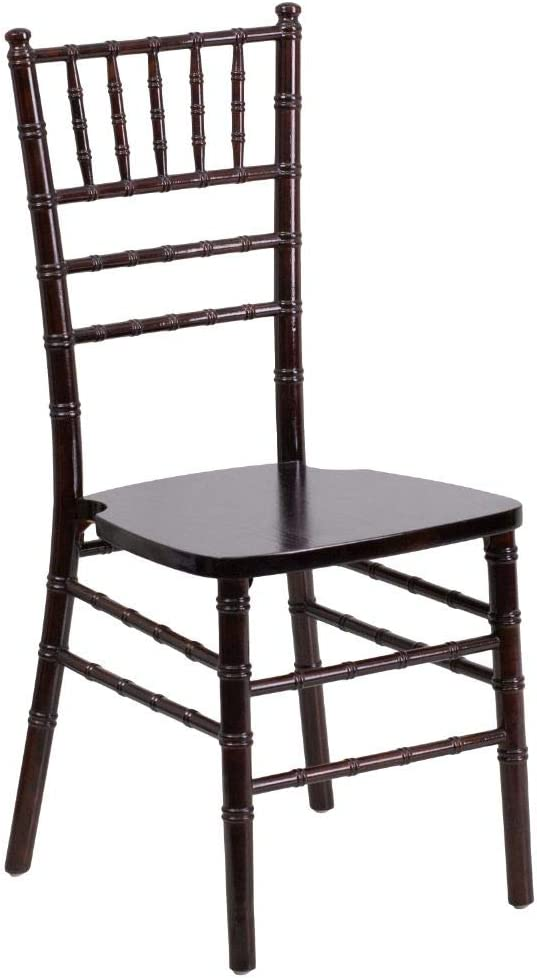 Flash Furniture HERCULES Series Walnut Wood Chiavari Chair