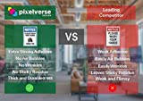 Pixelverse Design 7x10 - Social Distancing Decal