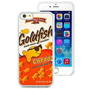 Hot Sale iPhone 6/iPhone 6S 4.7 Inch TPU Case ,Goldfish Crackers White iPhone 6/iPhone 6S Cover Unique And Popular Designed Phone Case