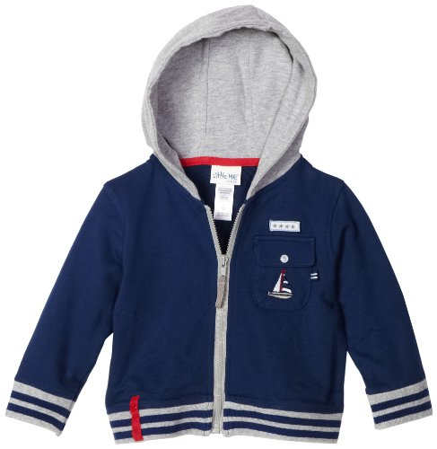 Little Me Baby Boys' Nautical Hoodie