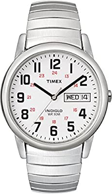 Timex Men's Easy Reader Day-Date Expansion Band Watch by Timex