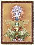 Chakraman Gold Tapestry by Circles of Light Imports