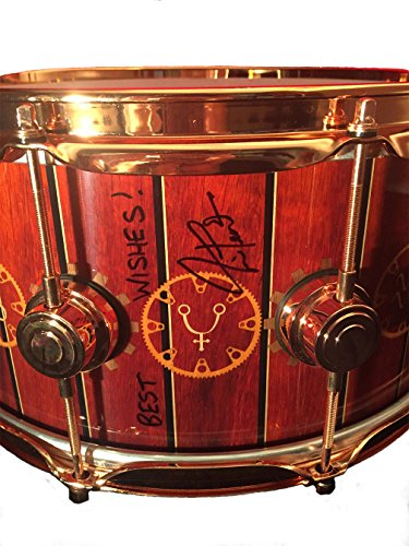 dw-collectors-series-snare-drum-signed-by-neil-peart-of-rush