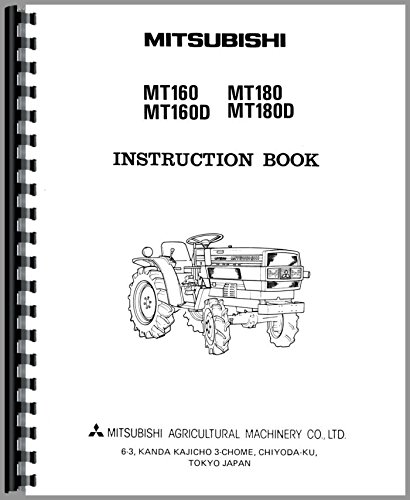 Read Online Mitsubishi MT180D Tractor Operators Manual ebook