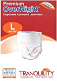 Tranquility Premium Overnight Disposable Absorbent Underwear (DAU) - Large - 2 Pack Sample